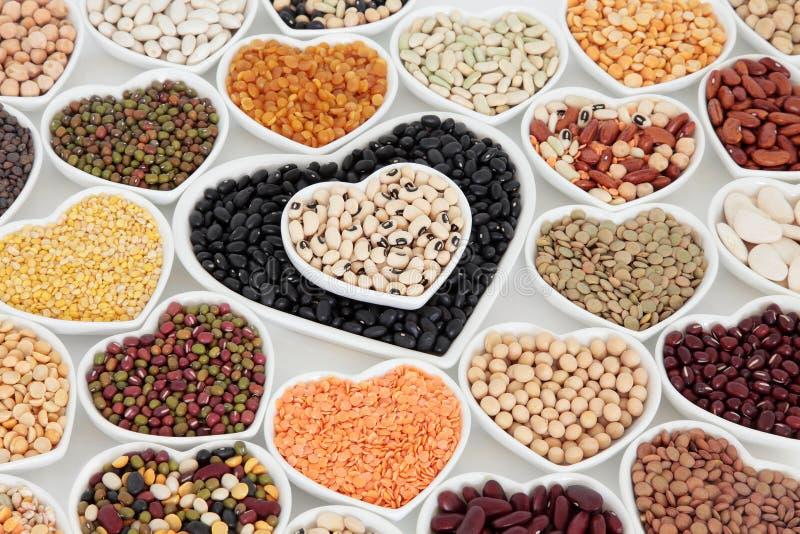 Pulsos sanos de la verdura secada imagen de archivo