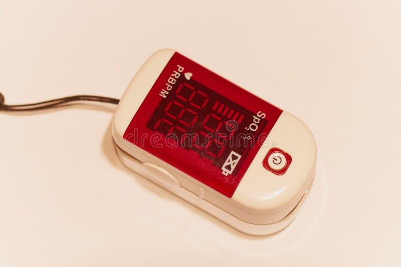 Pulsoximeter lizenzfreies stockbild