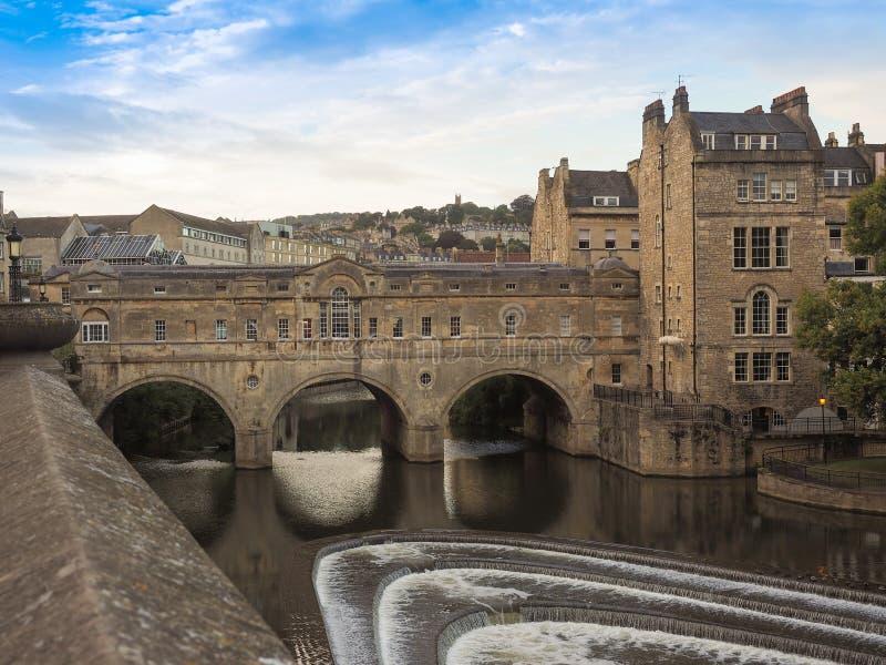 Pulteney Bridge in Bath royalty free stock photos
