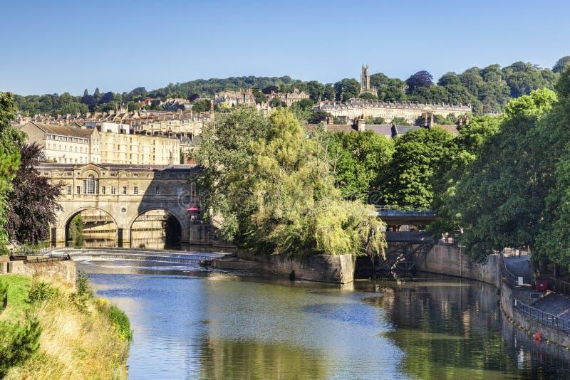 Pulteney Bridge, Bath Somerset UK stock photography