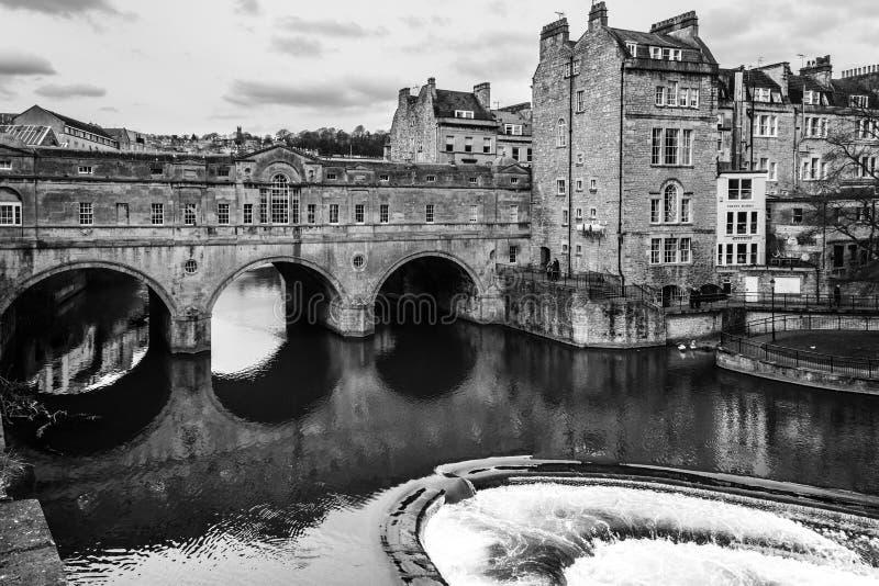 Pulteney Bridge, Bath, UK stock photos