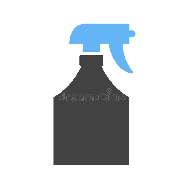 Pulvérisateur de l'eau illustration libre de droits