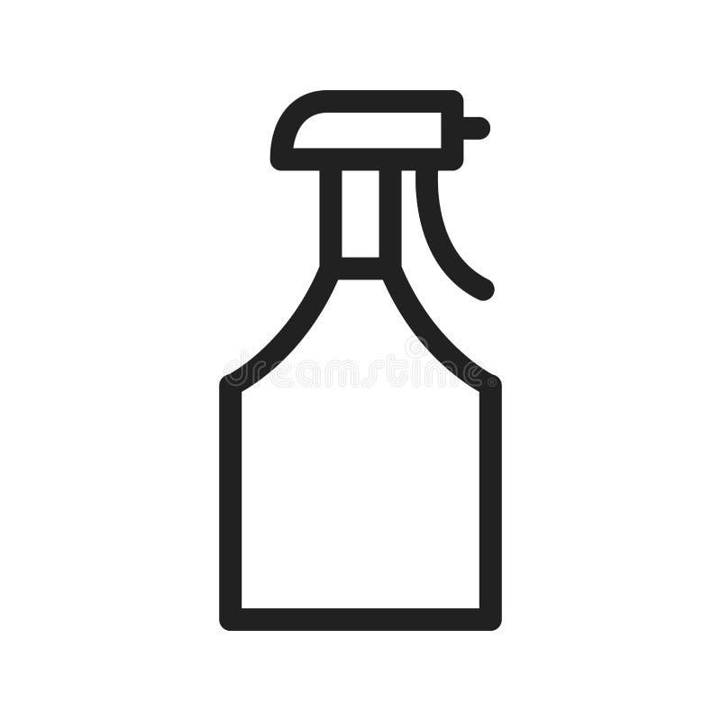 Pulvérisateur de l'eau illustration stock