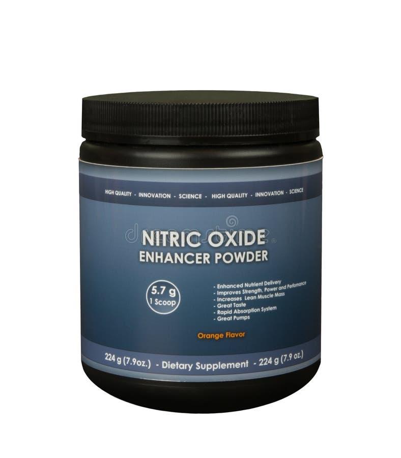 Pulver för Nitric oxid fotografering för bildbyråer