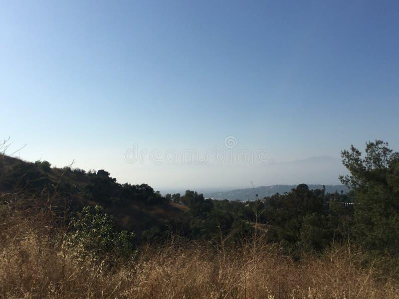 Pulver-Schlucht - San Gabriel Valley stockfotos
