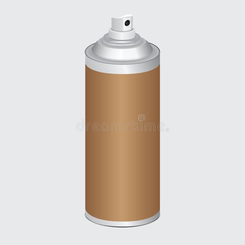 Pulverizador com atomizador ilustração stock