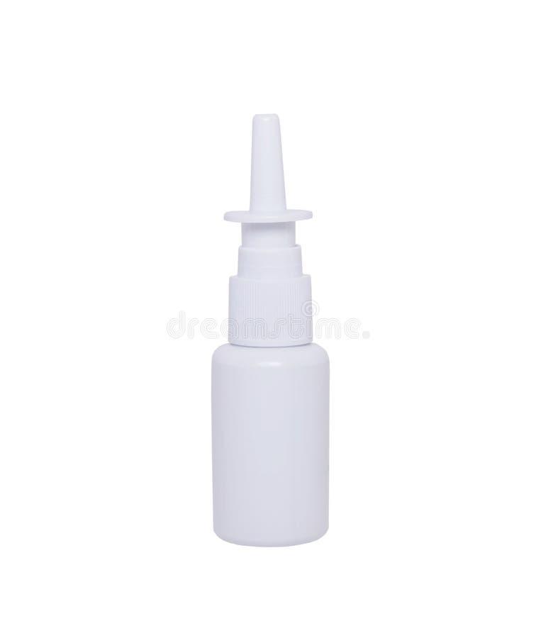 Pulverizador nasal para limpar o nariz fotos de stock royalty free