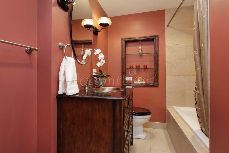 Pulverlokal i lyxig utgångspunkt arkivbilder