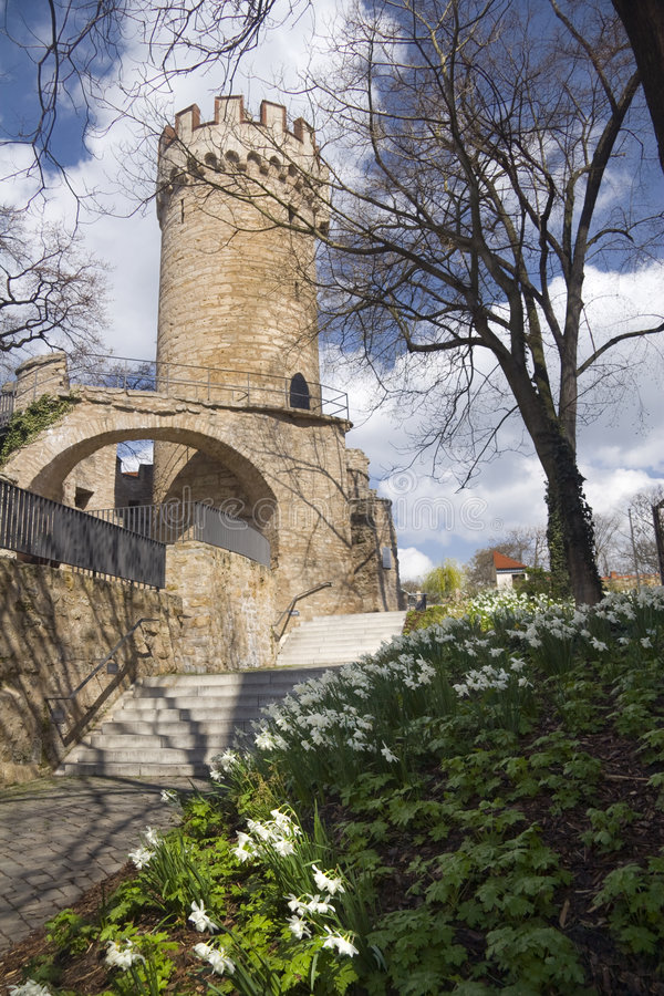 Pulverturm Jena lizenzfreies stockbild