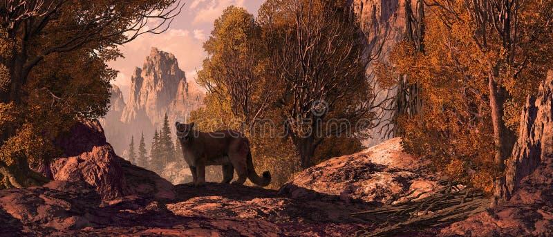 Puma royalty illustrazione gratis