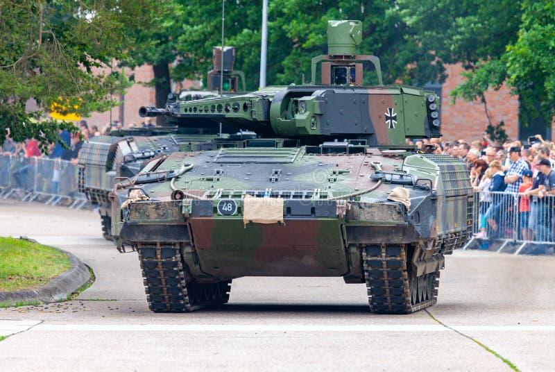 Puma alemán del vehículo de lucha de la infantería foto de archivo