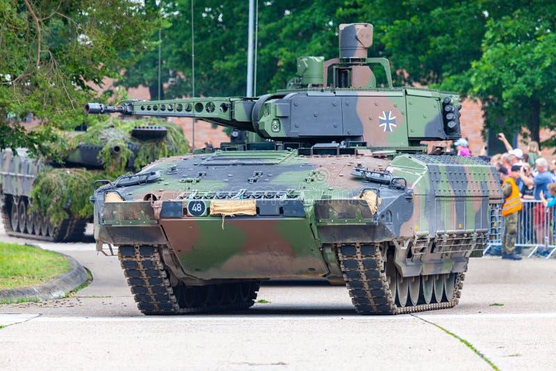 Puma alemán del vehículo de lucha de la infantería imágenes de archivo libres de regalías