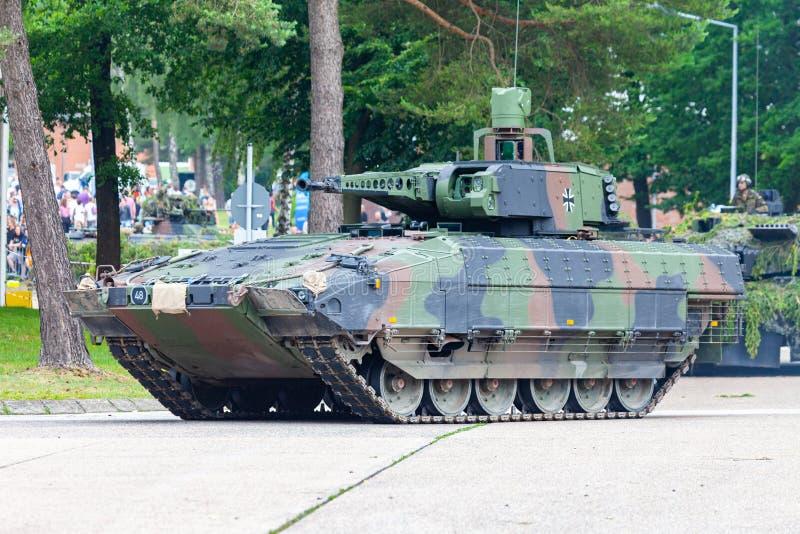 Puma alemán del vehículo de lucha de la infantería fotografía de archivo