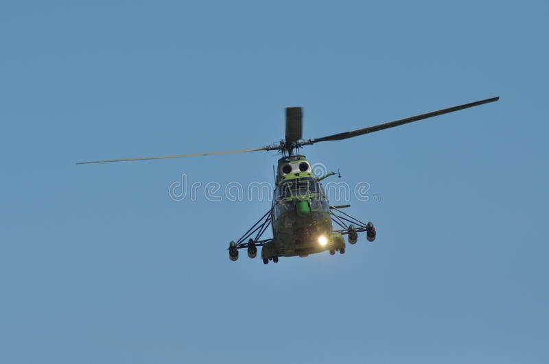 Download Puma Helicopters In Flight During A Military Parade Editorial Photo - Image: 32143136