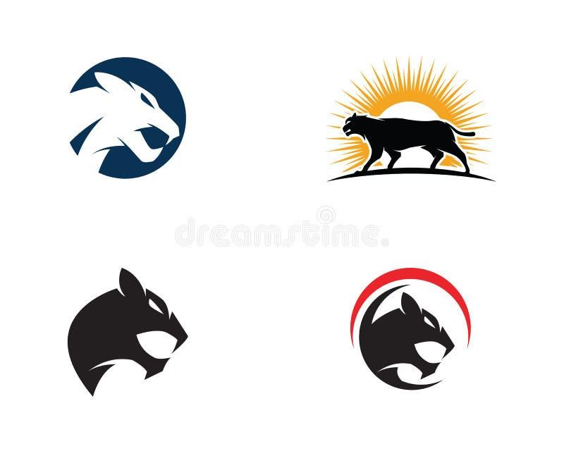 Puma Logo Design Vector Illustration Stock Vector - Illustration of ...