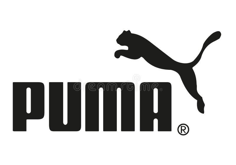 Puma logo royalty free stock image
