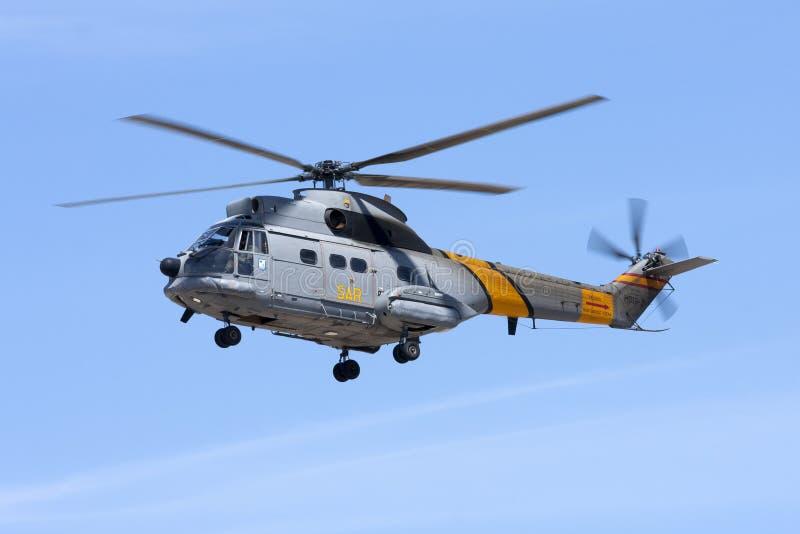 Puma spagnolo dell'aeronautica immagine stock libera da diritti