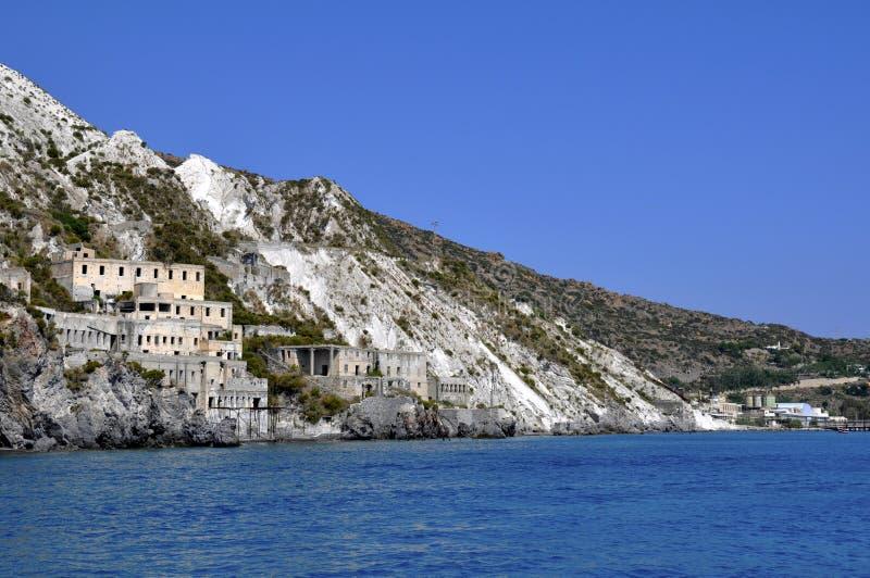Download Pumice Quarries - Lipari Stock Image - Image: 15398751