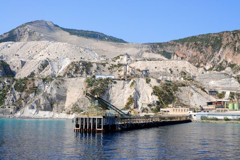 Download Pumice quarry stock photo. Image of bridge, rocks, white - 19471988