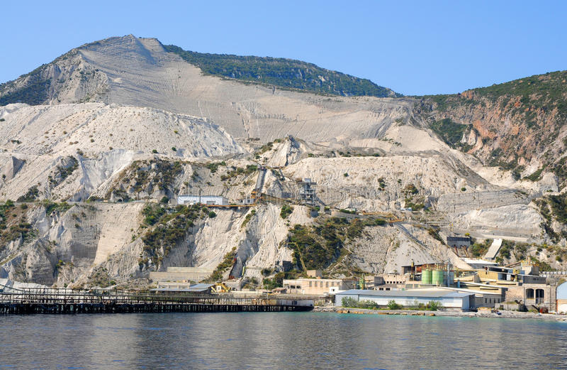 Download Pumice quarry stock photo. Image of isle, landing, sicilia - 19591106