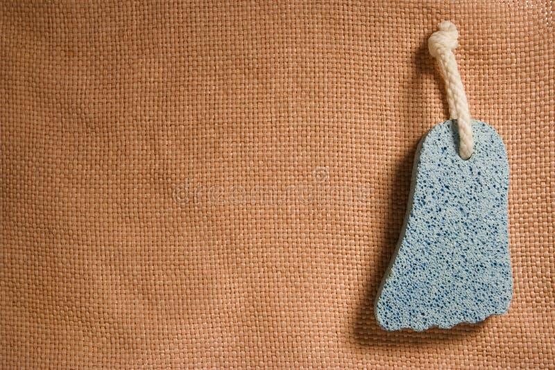 Pumice-stone stock image