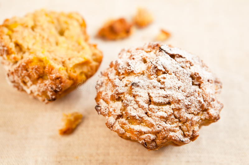 Pumkin muffins royalty free stock images