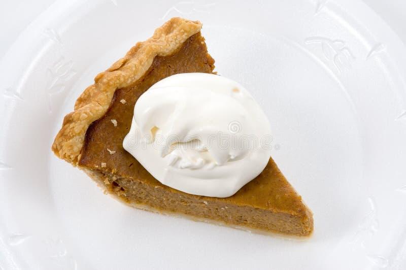 Download Pumkin Pie stock photo. Image of dessert, crust, dine, plate - 300596