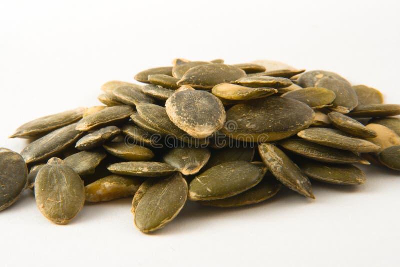 Pumkin seeds royalty free stock photography