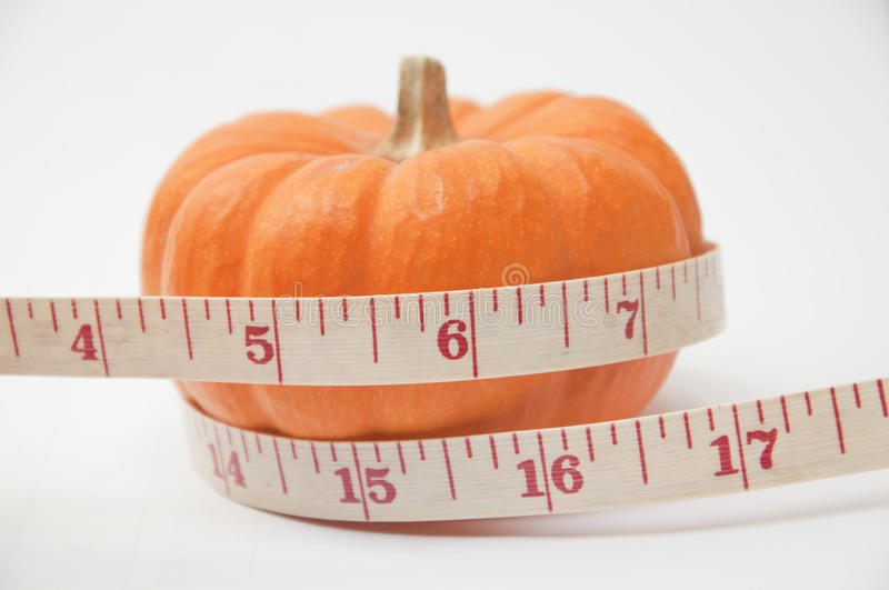 Download Pumkin and tape meter stock photo. Image of festive, corn - 27533738