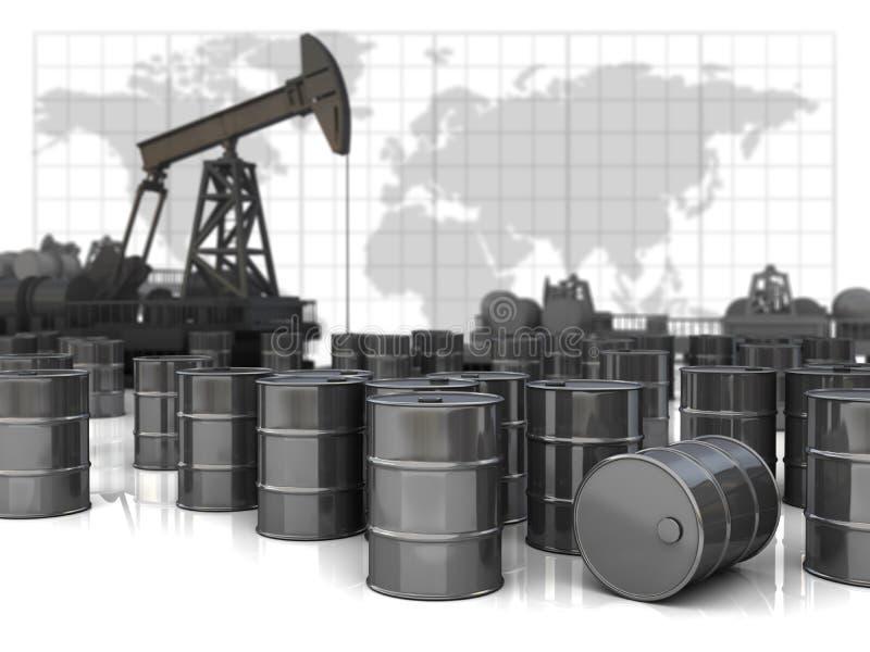 pump stock illustrationer