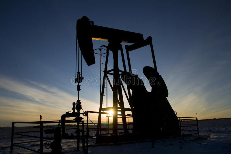 Download Pump Jack stock image. Image of sunset, industry, power - 24583121