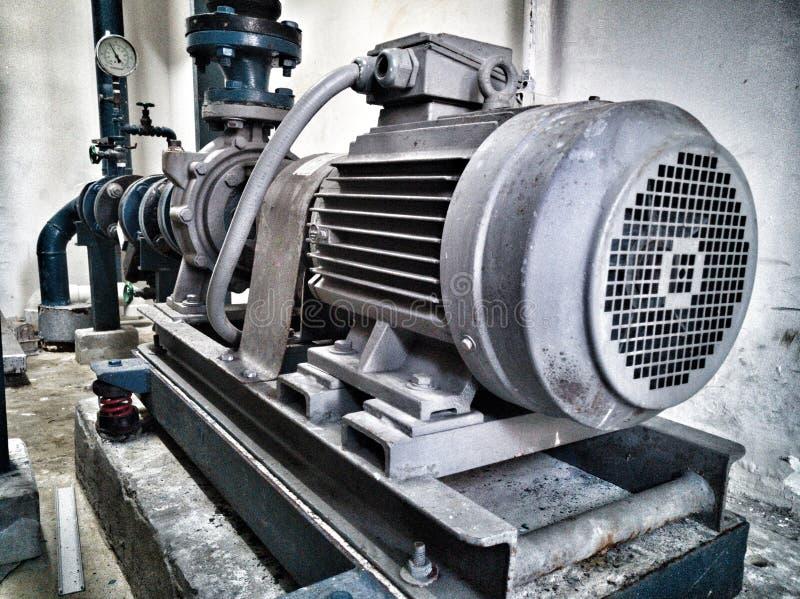 Pump motor royalty free stock photography