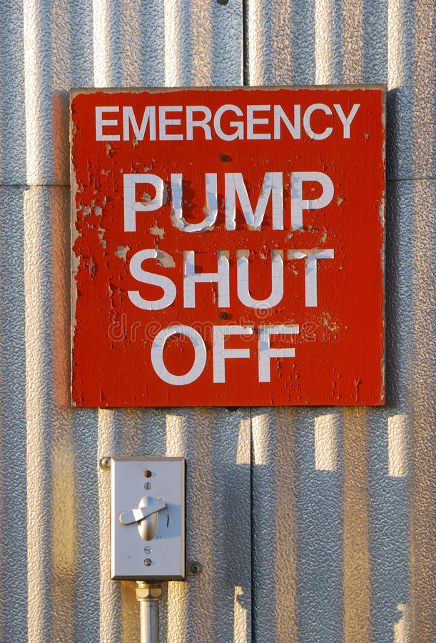 Free Pump Shut Off Stock Photo - 31600440