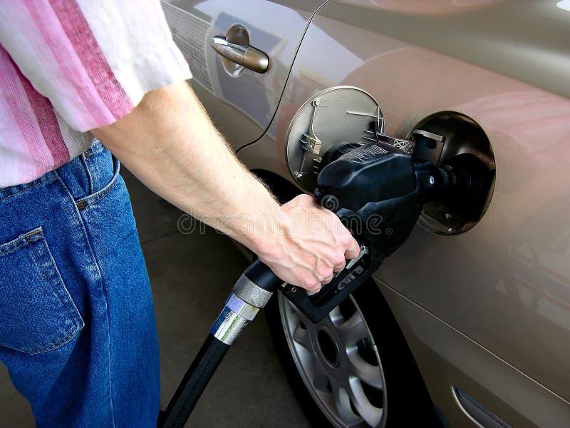 pumpa för gas royaltyfria foton