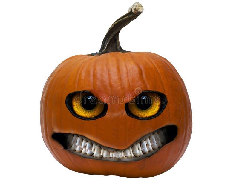 Pumpa för lykta för Halloween stålarnolla royaltyfria foton