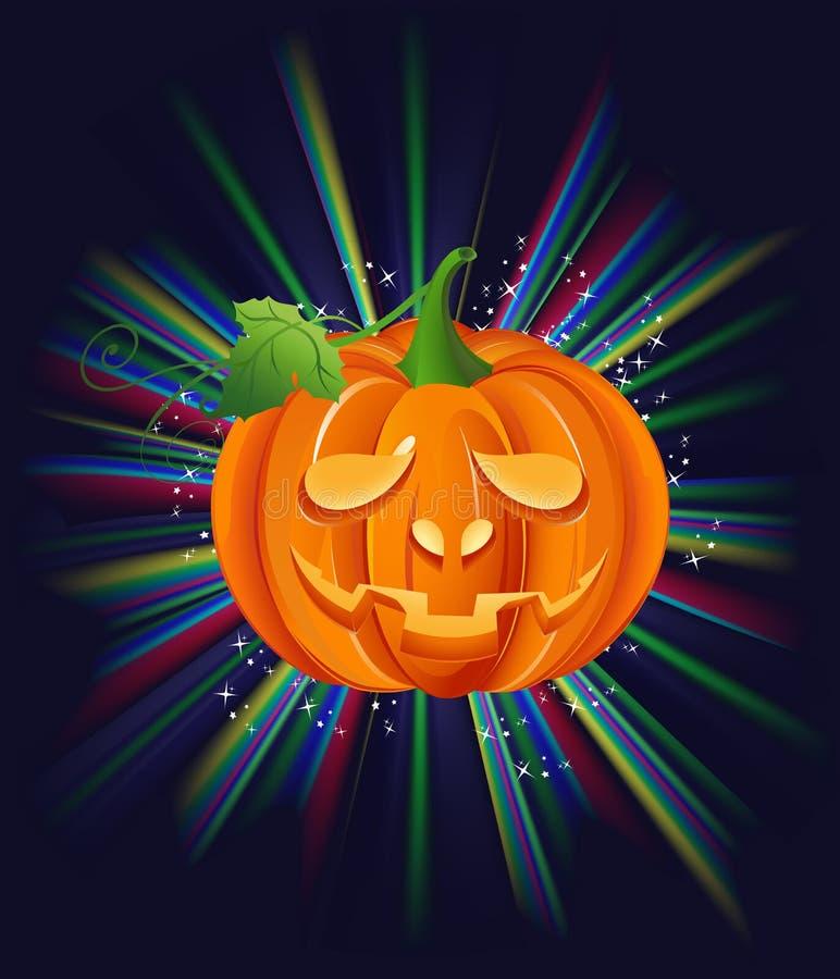 Download Pumpa på halloween vektor illustrationer. Illustration av leende - 27278398