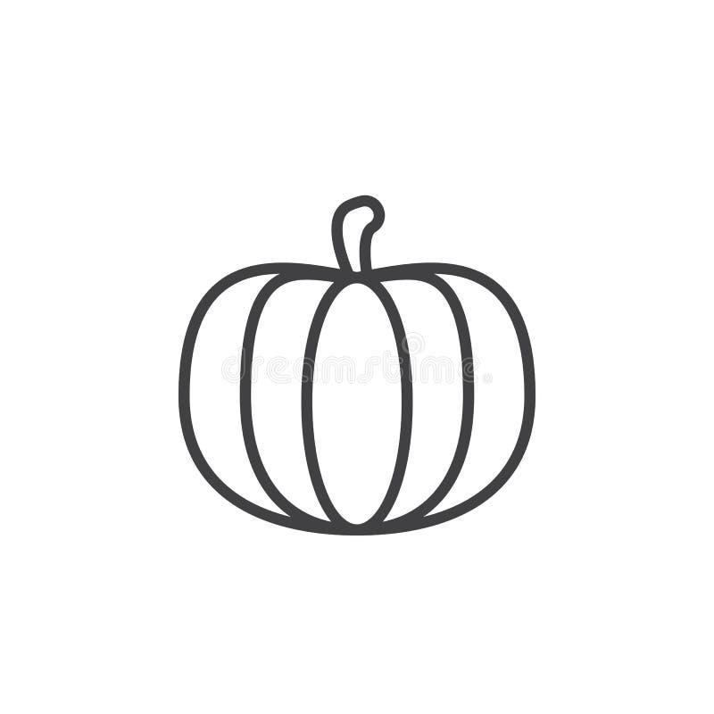 Pumpalinje symbol, översiktsvektortecken, linjär pictogram som isoleras på vit stock illustrationer