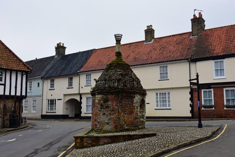 Pumpen, lilla Walsingham, Norfolk, UK arkivbilder