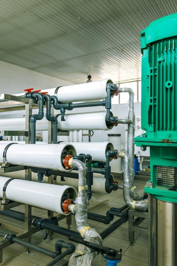 Pumpen und friedliches System stockfoto