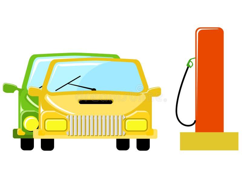 Pumpendes Gas lizenzfreie abbildung