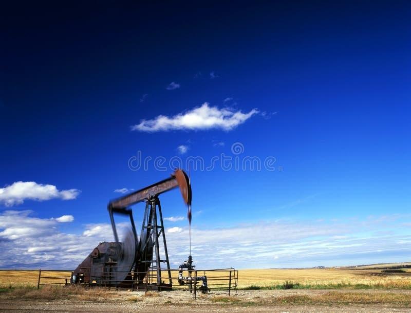 Pumpensteckfassung in der Tätigkeit stockfotografie