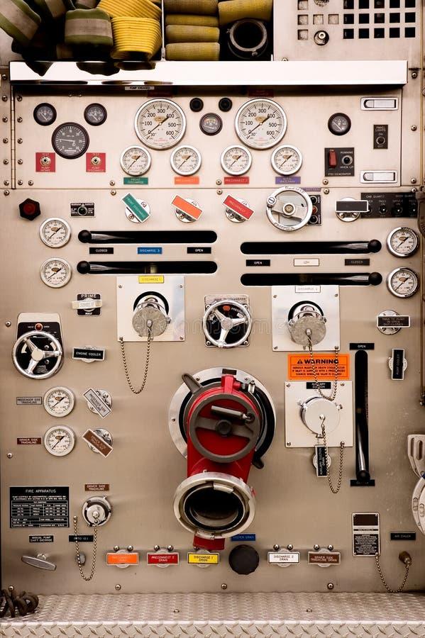 Pumper Controls stock photos
