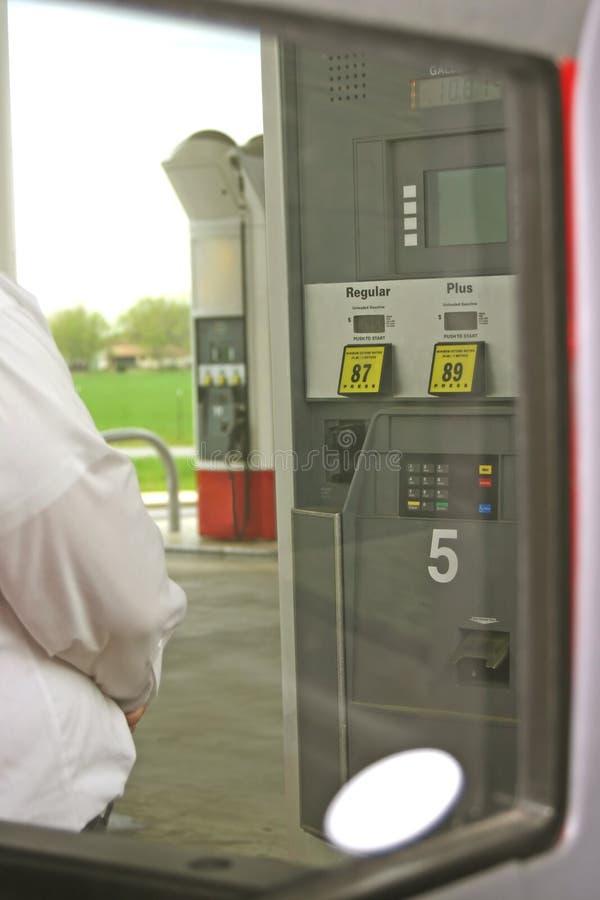 Pumping Gas Royalty Free Stock Photos