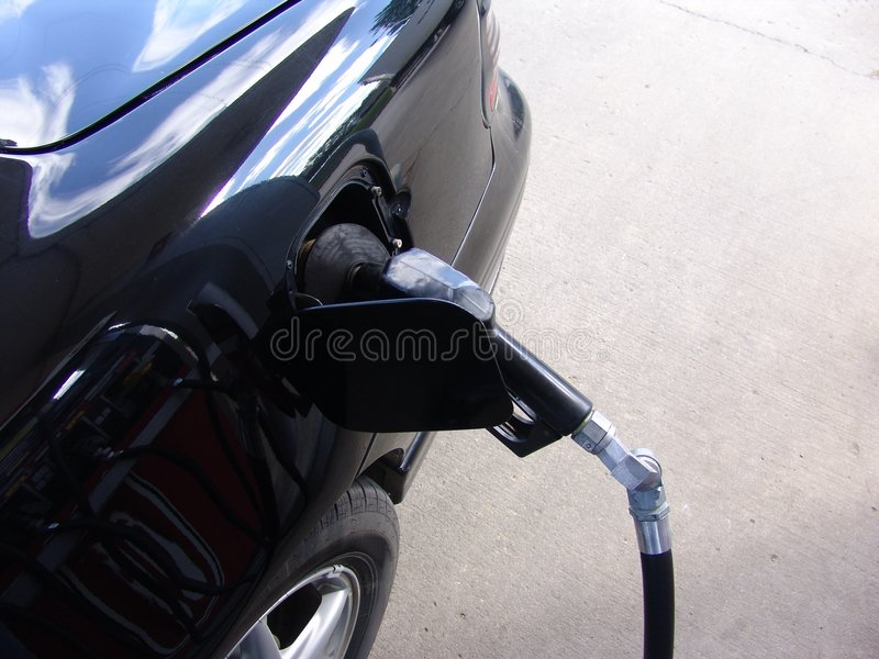 Pumping Gas royalty free stock image