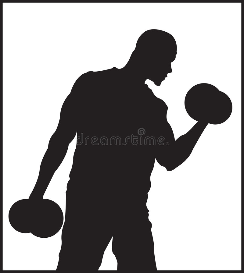 Pumping The Guns vector illustration