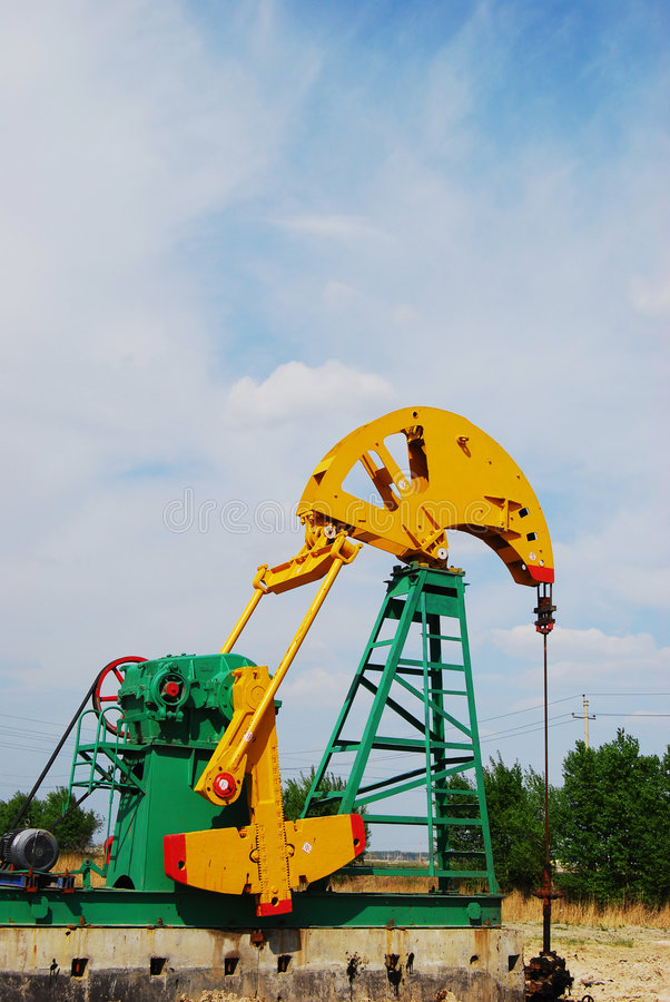 Download Pumping Oil Stock Photography - Image: 5182582