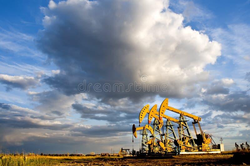 Pumping unit royalty free stock photo