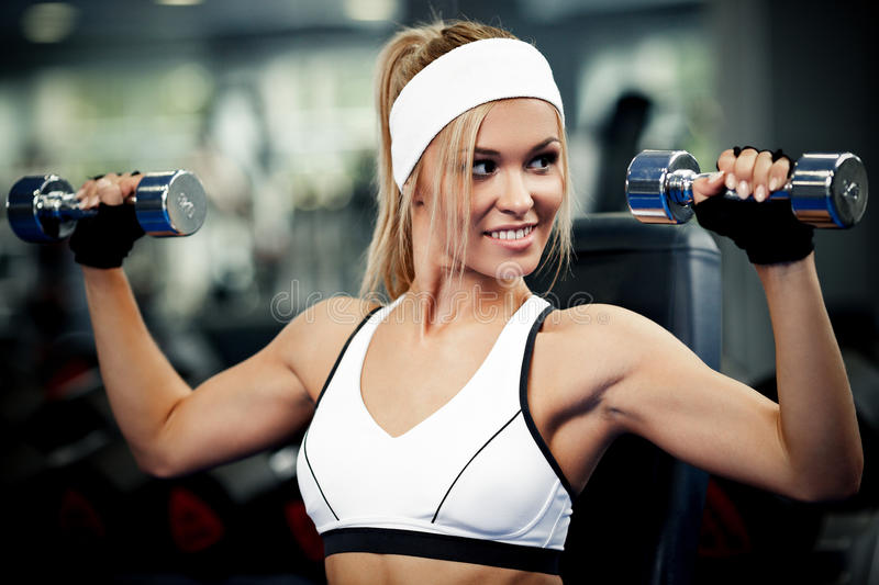 Download Pumping up biceps stock photo. Image of body, builder - 36562604
