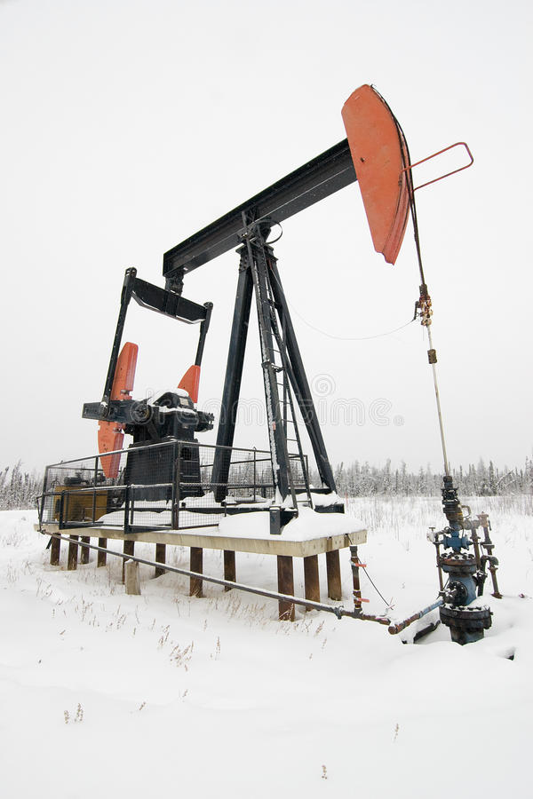 pumpjack obraz stock