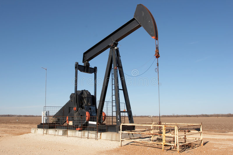 pumpjack obrazy stock